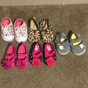 Infant shoe lot
